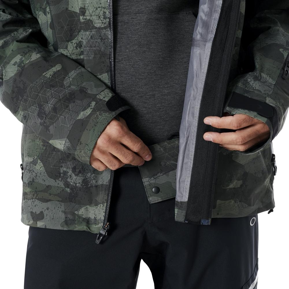 126c0ffff4e ... Купить Горнолыжная куртка Oakley Snow Shell Jacket 15K - Camo 3 ...