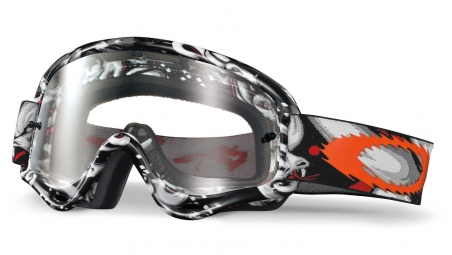 Купити Мотоциклетна маска Oakley XS O-frame MX Troy Lee TLD Medusa Clear