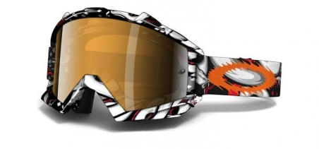 Купить Мотоциклетная маска Oakley Proven MX TROY LEE TLD Medusa Black Iridium