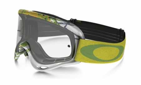 Купити Мотоциклетна маска Oakley XS O FRAME MX Moto Monster Green Clear