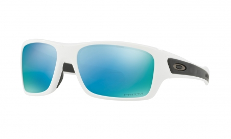 Купить Солнцезащитные очки Oakley Turbine XS (Youth Fit) Polished White / Prizm Deep Water Polarized