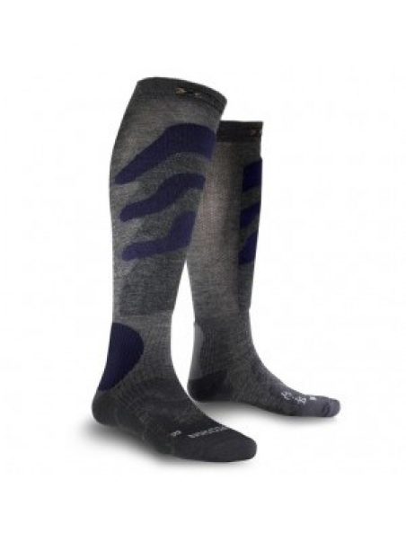 Купити Шкарпетки X-Socks Ski Precision Grey/Blue