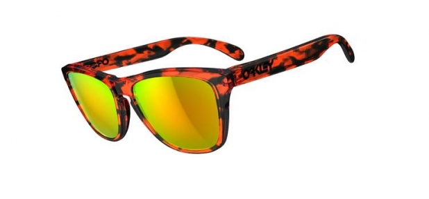 Купить Солнцезащитные очки Oakley Frogskins Acid Tortoise Orange w/Fire Iridium