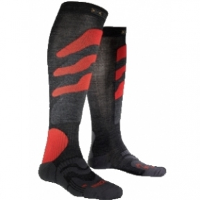 Купить Носки X-Socks Ski Precision Antracite/Red