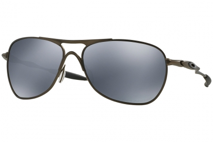 Купити Сонцезахисні  окуляри Oakley Titanuim Crosshair Pewter / Black Iridium Polarized