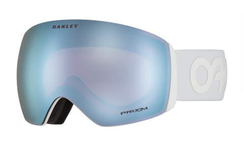 Купити Гірськолижна маска Oakley Flight Deck Factory Pilot Whiteout / Prizm Snow Sapphire Iridium