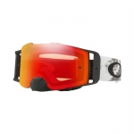 Купить Мотоциклетная маска Oakley FRONT LINE MX Matte White Speed Dual /Prizm Torch Iridium
