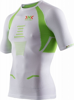 Купить Термобелье X-Bionic Trick Running Shirt Man White/Lime