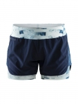 Купить Шорты Craft Charge 2-In-1 Shorts Woman BLAZE/P JUMBLE