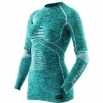 Купить Термобелье X-Bionic Energy Accumulator Evo Melang Lady Shirt Long Sleeves Round Neck