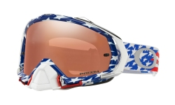 Купити Мотоциклетна маска Oakley MAYHEM PRO MX GLORY RWB / PRIZM MX BLACK