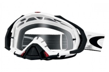 Купити Мотоциклетна маска Oakley MAYHEM PRO MX MATTE WHITE SPEED / CLEAR