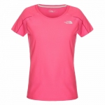 Купить Футболка The North Face W Go Light Go Fast S/S Tee - Glo Pink