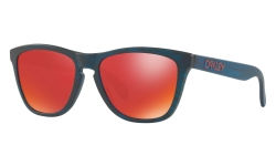 Купить Солнцезащитные очки Oakley Frogskins Matte Blue Woodgrain / Torch Iridium