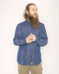 Купити Cорочка Baker Tech Flannel Shirt - Denim