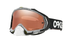 Купить Мотоциклетная маска Oakley MAYHEM PRO MX FACT PILOT THUMBPR BLCK WHITE / Prizm Mx Black Iridium