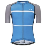 Купить Велокофта Oakley Colorblock Road Jersey Atomic Blue