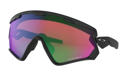 Купить Горнолыжные очки Oakley Wind Jacket 2.0 Matte Black / Prizm Jade Iridium