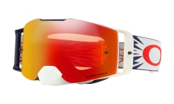 Купить Мотоциклетная маска Oakley FRONT LINE MX High Voltage Red Navy / Prizm MX Torch Iridium