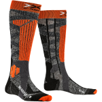 Купити Термошкарпетки X-Socks Ski Rider 4.0 Stone Grey Melange/X-Orange
