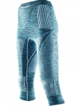 Купить Термобелье X-Bionic Energy Accumulator Evo Melange Lady Pants Medium Lake Blue Melange/White
