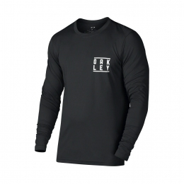 Купити Лайкра Oakley LS Surf Tee Blackout