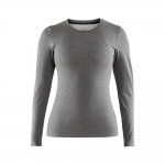 Купити Термобілизна Craft Essential Warm RN LS Woman Dark Grey Melange