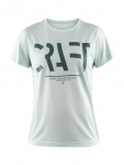 Купить Футболка Craft Eaze SS Logo Mesh Tee Woman PLEXI