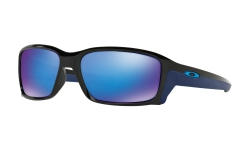 Купить Солнцезащитные очки Oakley Straightlink Polished Black / Sapphire Iridium