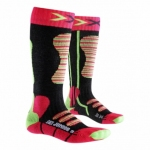 Купить Носки X-Socks SKI Junior Coral / Green