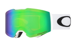 Купить Горнолыжная маска Oakley Fall Line Matte White / Prizm Snow Jade Iridium