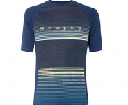 Купить Лайкра Oakley Asymmetrical Dynamic Rashguard Dark Blue