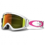 Купить Горнолыжная маска Oakley 02XS White/Blue Pebble Stones Fire Iridium