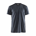 Купить Футболка Craft Charge SS Tee Man BLACK MELANGE