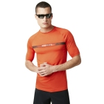 Купить Лайкра Oakley Camou Stripe Logo Rashguard Fire Red