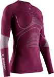 Купити Термобілизна  X-Bionic Energy Accumulator 4.0 Shirt Round Neck LG SL Plum/Pearl Grey Women