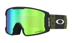Купить Горнолыжная маска Oakley Line Miner  Blockography Dark Brush / Prizm Snow Jade Iridium