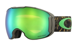 Купить Горнолыжная маска Oakley Airbrake XL Camo Vine Jungle / Prizm Jade Iridium & Prizm Rose