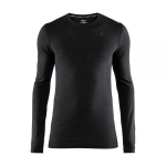 Купить Термобелье CRAFT FUSEKNIT COMFORT RN LS MAN BLACK 19/20