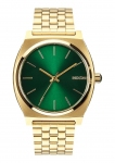 Купити Годинник Nixon Time Teller - Gold/Green Sunray