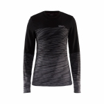 Купити Термобілизна Craft WOOL COMFORT 2.0 CN LS W BLACK/DARK GREY MELANGE