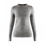 Купить Термобелье Craft Fuseknit Comfort RN LS Woman Dark Grey Melange