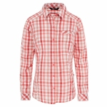 Купить Женская рубашка THE NORTH FACE W L/S ZION SHIRT CAYENNE RED PLD