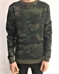 Купить Кофта Oakley CrewNeck Scuba Fleece - Camo