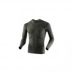 Купить Термобелье X-Bionic Hunting Shirt Long Sleeves Round Neck Sage Green/Anthracite